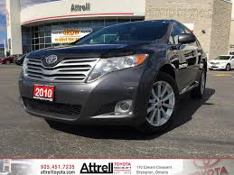 used 2015 toyota venza for used 2010 toyota venza 4 door station wagon in brampton on 38966a