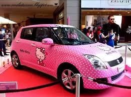 15 kitty kars images kitty car pink