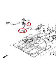 honda metropolitan fuel sending unit kit