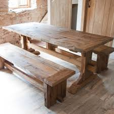 Large Rustic Dining Table Large Wooden Kitchen Table Kitchen Table Gallery 2017