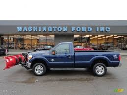 truck ford blue 2011 dark blue pearl metallic ford f250 super duty xlt regular cab