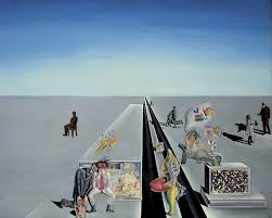 the first days of spring 1929 by salvador dali
