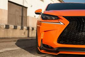 lexus sport orange lexus shows off colorful rc f nx concepts at sema motor trend wot
