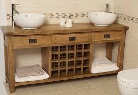 Oak Bathroom Vanity Units Mesmerizing Stand Alone Bathroom Vanity Cool Design Wall Mount Vs
