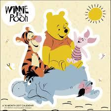 winnie the pooh wall calendar 9781682093245 calendars com winnie the pooh 2017 wall calendar