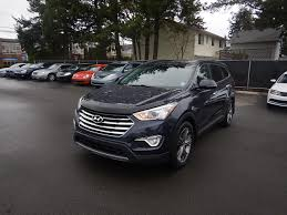 hyundai crossover 2014 used 2014 hyundai santa fe xl limited memory seat leather