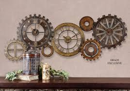 Home Decor Clocks Expressions Of Time Clockshops Com Decorative Wall Clock Collage