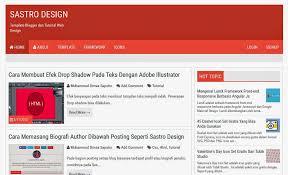 membuat website bootstrap cara membuat template blogger dengan bootstrap sastro design