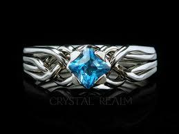 avalon wedding band avalon puzzle engagement ring with 4mm tsavorite garnet
