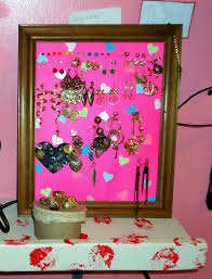 how to make an earring holder for studs cardstock picture frame earring holder how to make an earring