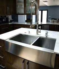 how to install stainless steel farmhouse sink stainless steel apron sink a tsp stainless steel farmhouse sink 36