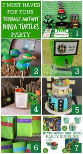 25 ninja turtle party supplies ideas ninja