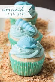 mermaid cupcakes the baker upstairs mermaids and cupcakes