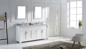 Virtu Bathroom Accessories by Virtu Usa Victoria 72 Double Bathroom Vanity Set In White