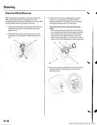 airbag honda civic 2002 7 g workshop manual