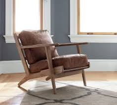 Living Room Chairs  Occasional Chairs Pottery Barn - Casual living room chairs