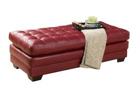 White Leather Coffee Table Red Leather Coffee Table Home Design Inspirations