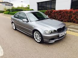 2004 53 bmw 325ci msport grey coupe full bmw history 1 years mot