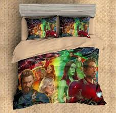 3d customize avengers infinity war bedding set duvet cover set