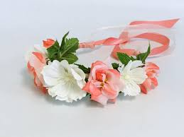 Polyester Flowers - 21 best coral flowers images on pinterest branches hair combs