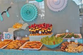 food ideas baby shower add the colors for your party