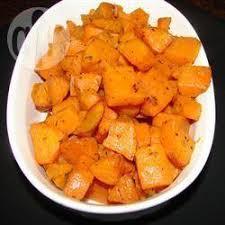 comment cuisiner patate douce patates douces cuites au four recettes allrecipes québec