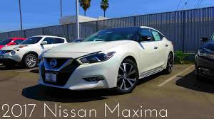 nissan sentra 2017 white interior 2017 nissan maxima platinum 3 5 l v6 review youtube