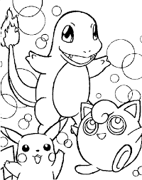 Colouring Pages Pokemon Coloring Pages Coloring Kids by Colouring Pages