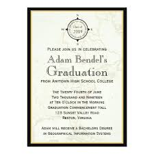 formal high school graduation announcements graduate invites stylish but formal graduation invitations