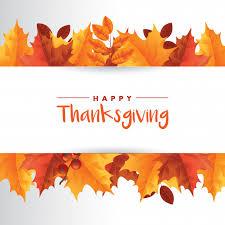 happy thanksgiving background theme vector premium