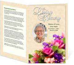 pictures for funeral programs funeral programs funeral handouts programs for funerals