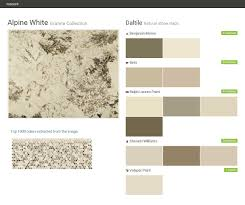 What Colors Match With Gray Alpine White Granite Collection Natural Stone Slabs Daltile