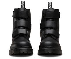 womens black moto boots coralia venice official dr martens store eu