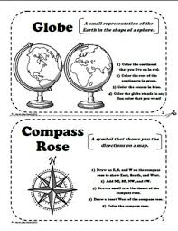 globe and maps worksheet and globes a printable book for introducing or reviewing map skills