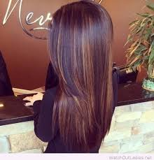 light mahogany brown hair color with what hairstyle subtle highlights with dark chocolate hair color hair