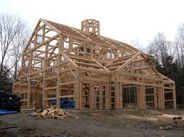 timber frame barns timber frame homes barns post and beam hybrid