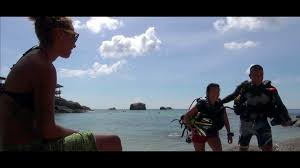 padi open water course with diving indo