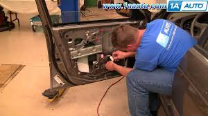 nissan maxima window motor how to install replace front power window regulator nissan sentra