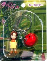 key holder apple karigurashi arrietty borrower