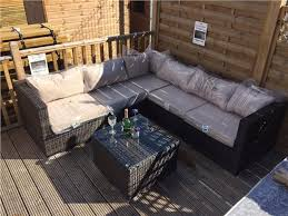 Rattan Table L Assembled Rattan Modular Corner Sofa Set Garden Furniture L Shape