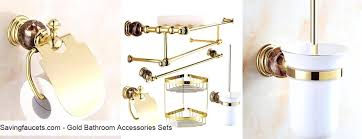 gold bathroom accessoriesgold bathroom accessories sets gold