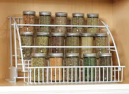 Spice Rack Kitchen Cabinet Rubbermaid Pull Down Spice Rack Organizer Shelf Cabinet Kitchen