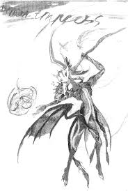 request for anyone a titania halloween skin with bat demon wings