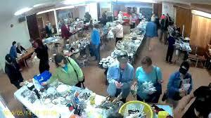 faith lutheran church garage sale may 14 2016 basement tme lapse