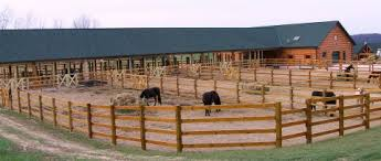 Best Horse Barn Designs Log Homes And Horses Seem To Go Together This Custom Horse Stable