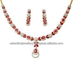 necklace sets design images Ruby necklace set jpg