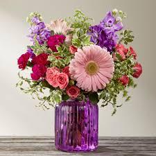 unique designs llc the ftd purple prose bouquet by better homes