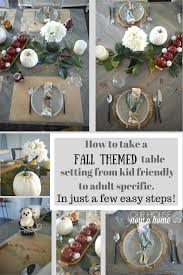 Fall Table Settings by Fall Table Ideas For Kids And Adults With Cost Plus World Market