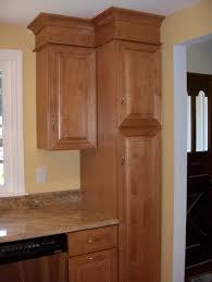 Tall Kitchen Pantry Cabinet Furniture Stainless Steel Alex Freddi Construction Llc