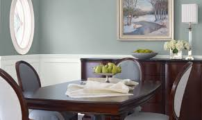 Paint Ideas For Dining Room Valspar New Traditional Dining Room 1